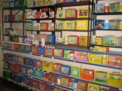 lunch boxes collection