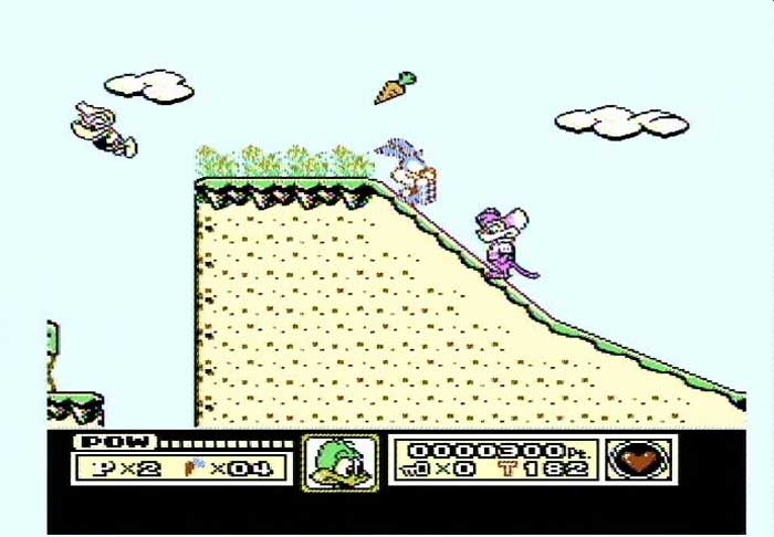 Tiny Toon on Famicom without the jailbar