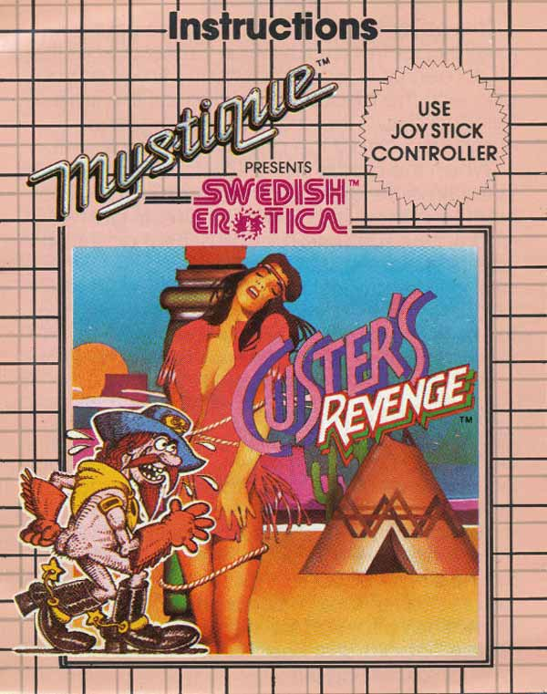 Custer's Revenge, sex, indians, cowboys, 1982