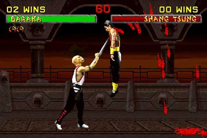 Mortal Kombat, blood, fatality