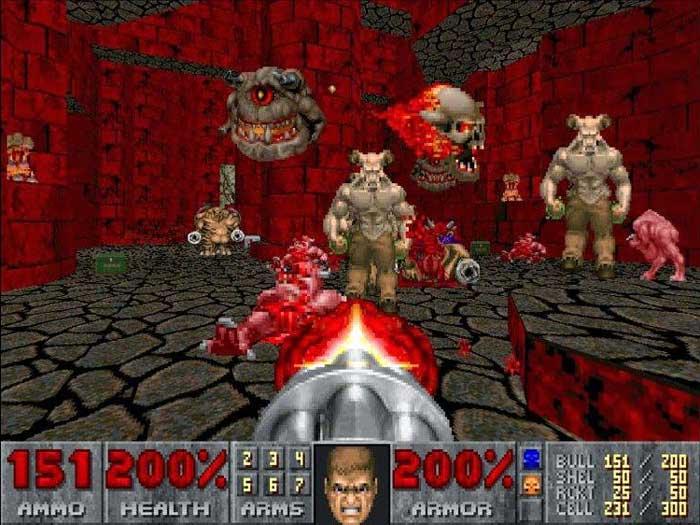 Doom hell blood hell