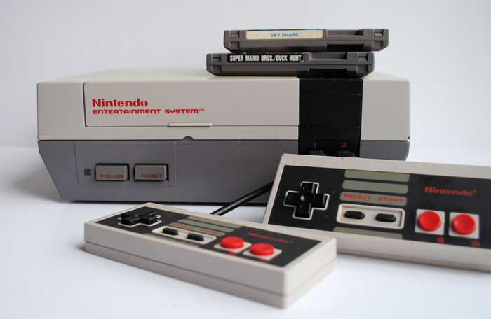 NES console games