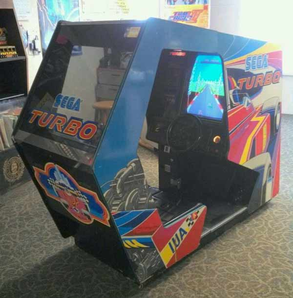 sega turbo arcade machine