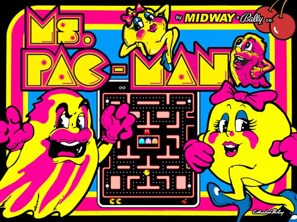 mc pac man 1981