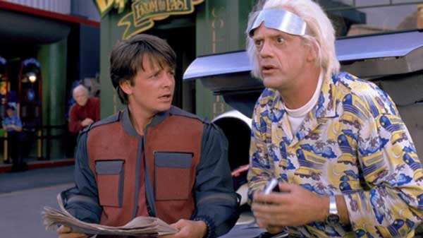 Back To The Future Backstage