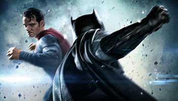 Superman vs Batman fight