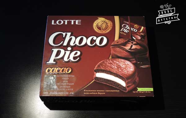 LOTTE Choco-Pie Cacao