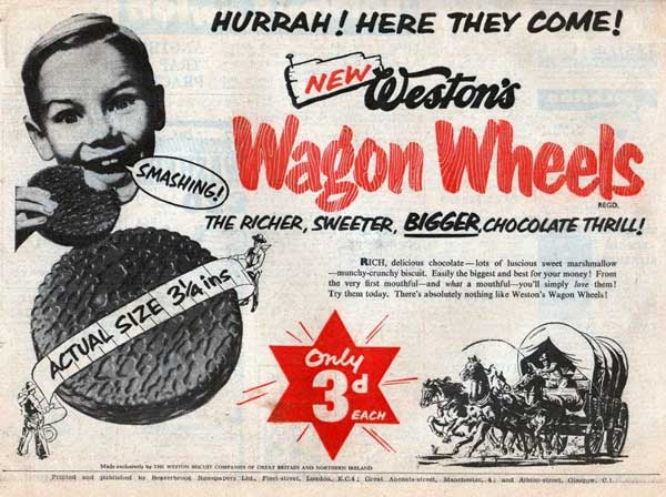 Weston Wagon Wheels