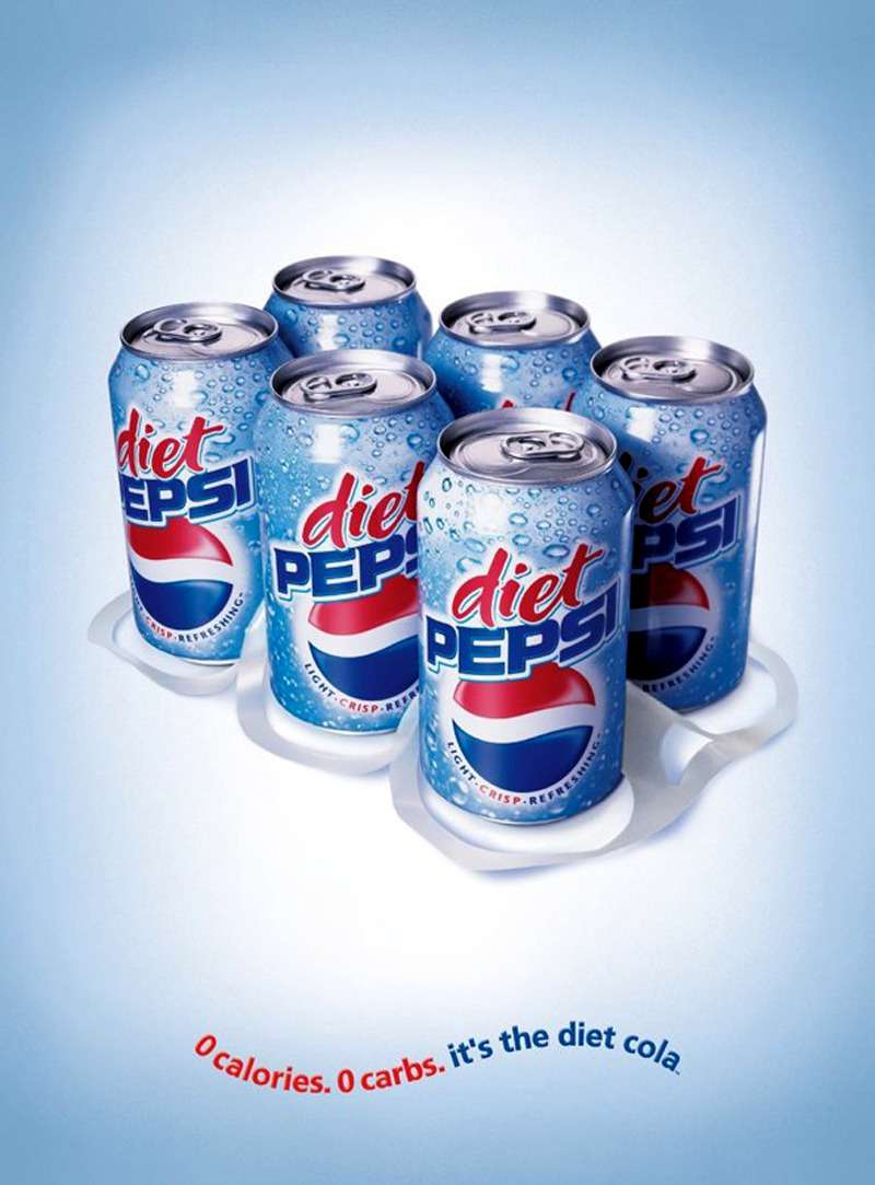Diet Pepsi advert