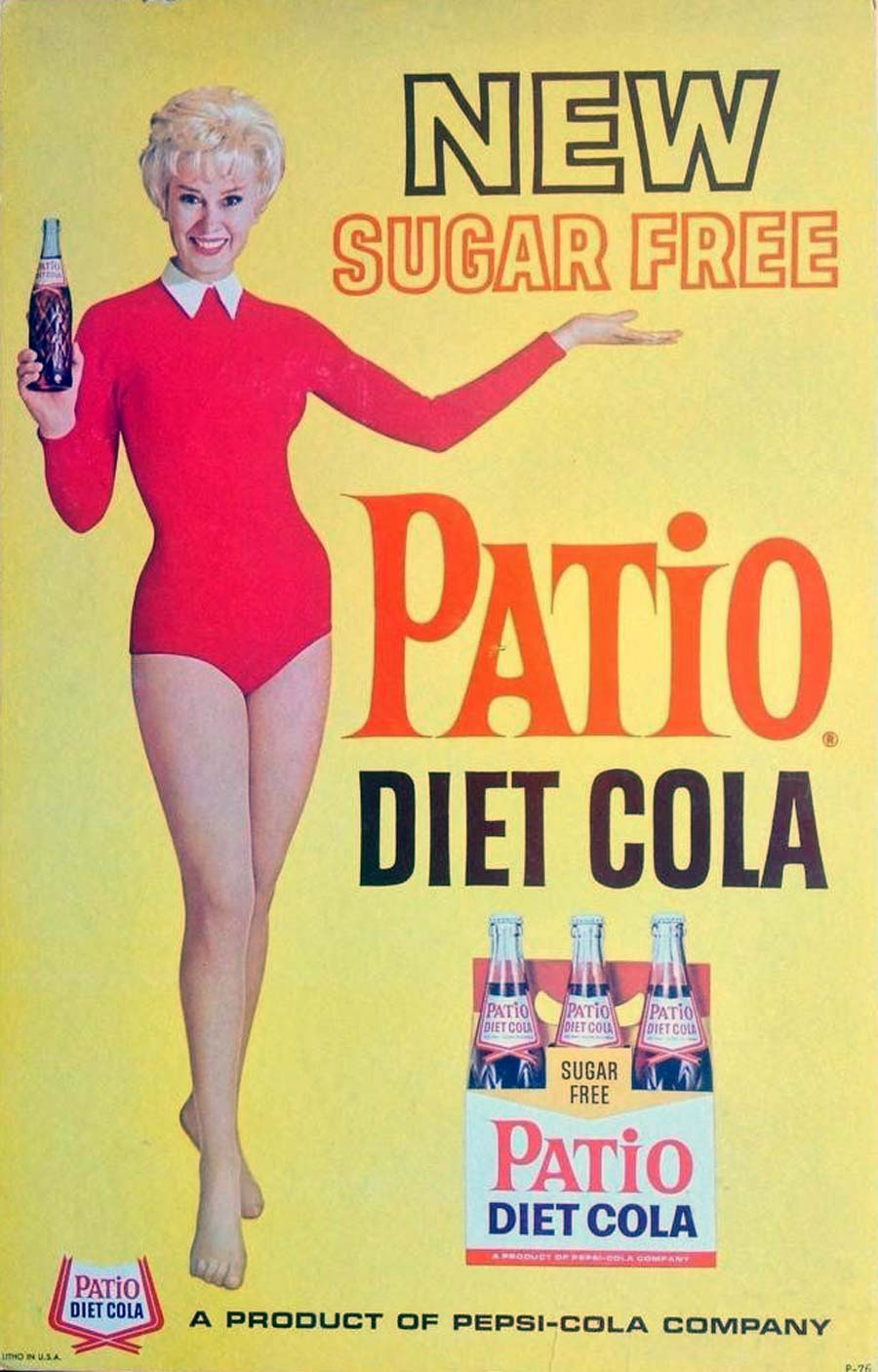 Patio Diet Cola poster